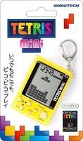 TEATLIS 官方*产品 钥匙圈型手机游戏机 Tetriis ( R ) 迷你 (黄色)