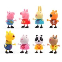 Peppa Pig 小猪佩奇 佩奇和朋友们派对人偶套装 *2件