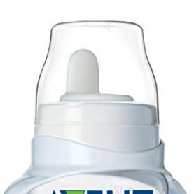 AVENT 新安怡 SCF625/01 婴儿宽口径鸭嘴奶瓶 透明色 125ml