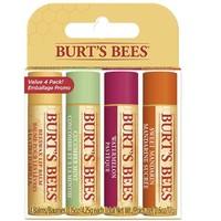 BURT'S BEES 小蜜蜂 天然保湿唇膏 4支