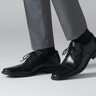 中亚Prime会员、限尺码 :  Clarks 其乐 Tilden Cap 男士德比鞋