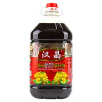 京东PLUS会员:汉晶 纯正农家菜籽油 5L