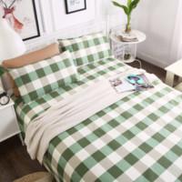柚寝 全棉老粗布床单三件套 200*230cm