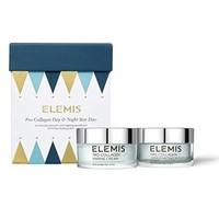 ELEMIS 爱丽美 Pro-Collagen 日夜之星2件装(骨胶原海洋精华乳霜 50ml+注氧晚霜 50ml)