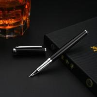 WINGSUNG 永生 575 包尖金属钢笔 黑色 暗尖 0.5mm