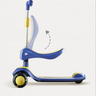 BabyCare 二合一可折叠儿童滑板车