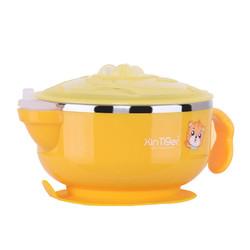 辛虎 304不锈钢儿童注水碗