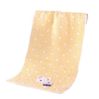 KINGSHORE 金号 T1091WH 纯棉双层无捻提格子毛巾