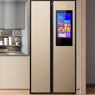 VIOMI 云米 BCD-525WMLA(U2) 变频对开门冰箱 525L 金色