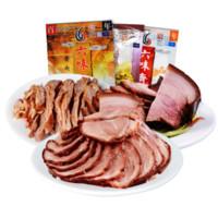 六味斋 熟食酱肉 酱肉156g*酱肘花156g*酱牛肉156g