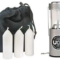 中亚Prime会员:UCO Original  铝合金款带 防风蜡烛灯 3支蜡烛和储物袋