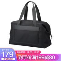 博牌Bopai健身包手提行李包男女旅行包干湿分离 休闲旅行袋短途旅游大容量 黑色32-60211
