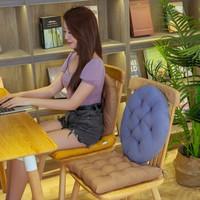 移动专享:欧妃尚 加厚沙发坐垫子 40*40cm(2件装)