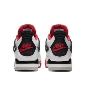 AIR JORDAN 正代系列 Air Jordan 4 Retro 男士篮球鞋 DC7770-160 火焰红 42
