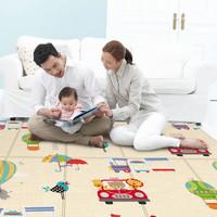 婴之力 可折叠幼儿家用爬行垫