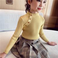 瑄妮薇 女童毛衣 针织衫