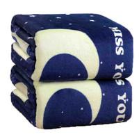 北极绒 法兰绒毯子 100*150cm