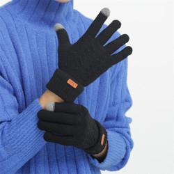 联纱思 男女加绒触屏手套 多色可选