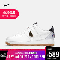 耐克 男子 NIKE AIR FORCE 1 ′07 LV8 运动鞋  CT2298-100