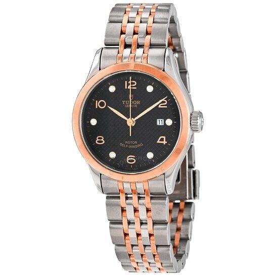 银联爆品日 : TUDOR 1926 M91351-0004黑色表盘女士手表