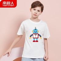 Nan ji ren 南极人 大童纯棉短袖T恤