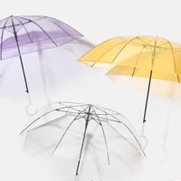 BANANA UNDER 蕉下 纯色甜美透明雨伞 三件装