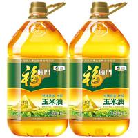 福临门 黄金产地玉米油 4L*2瓶