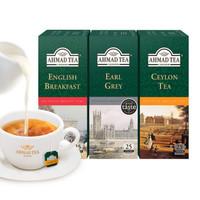 AHMAD   亚曼茶 TEA红茶包组合装    2g*25袋*3盒