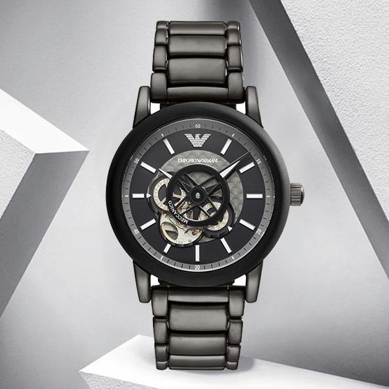 EMPORIO ARMANI 阿玛尼 AR60010 男士自动机械手表