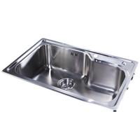 KOHLER 科勒 K-77160-2S-NA 不锈钢水槽台上厨盆