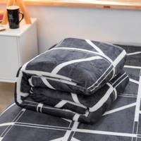 朴顿庄园 金貂绒毛毯加厚法兰绒毯 150*200cm