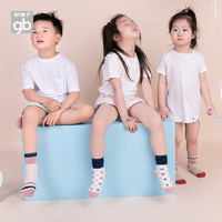 Goodbaby好孩子童装秋冬婴儿袜子宝宝袜男女童中筒袜4双礼盒装(4-7岁(13码)、卡其)