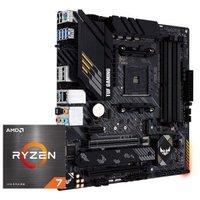 华硕TUF GAMING B550M-PLUS主板+AMD 锐龙5 (R5)5800X CPU处理器 板U套装 CPU主板套装