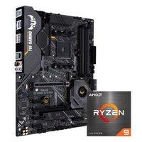 华硕TUF GAMING X570-PLUS主板+AMD 锐龙9 (R9)5950X CPU处理器 板U套装 CPU主板套装