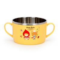 乐扣乐扣(LOCK&LOCK) HelloBeBe 儿童碗进口不锈钢餐具650ml LBB476N *2件