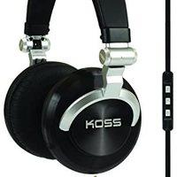 Koss ProDj200 工作室耳机 - 黑色/银色