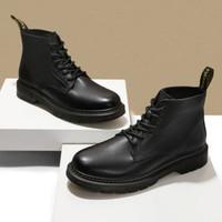 京东PLUS会员:BeLLE 百丽 92267DD0 男士马丁靴