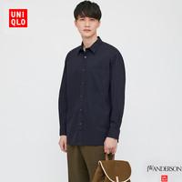 UNIQLO 优衣库 435804 男士宽松衬衫长袖