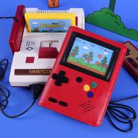 kinbor DT51001 A6皮面记事本 可插卡游戏机款 红色 *3件