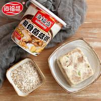 海福盛 速食粥 排骨菌菇粥+牛肉粥 6杯组合装 *2件