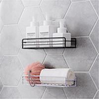 移动专享:SCNDEWMY  铁艺浴室置物架  免打孔 1个装