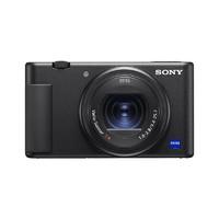 SONY 索尼 ZV-1 1英寸数码相机 黑色(9.4-25.7mm F1.8)蓝牙手柄电池套装