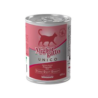 MORANDO 茉兰朵 深海鱼+虾肉泥猫罐头 400g*6