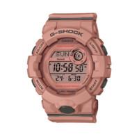 CASIO 卡西欧 G-SQUAD系列 GMD-B800SU-4PR 女士电子手表 45.2mm 粉盘 粉色树脂带 圆形