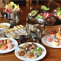 上海雅居乐万豪酒店火锅主题自助晚餐/自助下午茶