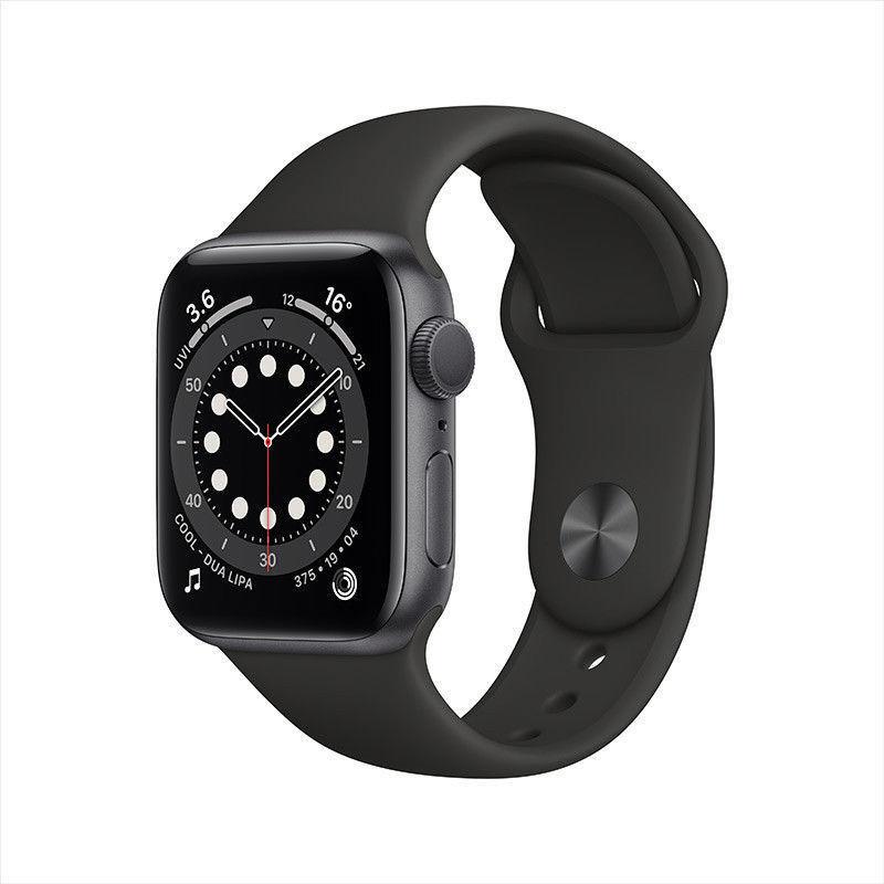 百亿补贴 : Apple 苹果 Watch Series 6 智能手表 GPS款 40mm 红色运动型表带