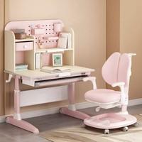 黑白调学习时光 小户型儿童桌椅套装(木超人/启智款)
