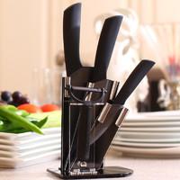 DELIER 德利尔 黑刃陶瓷刀 5件套
