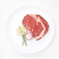 限北京上海、京东PLUS会员:大庄园 进口原切眼肉牛排5片套装  750g *6件