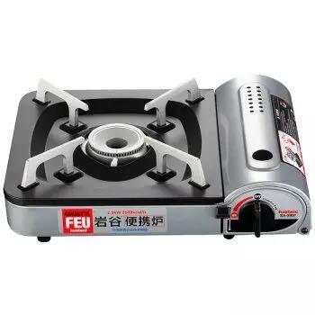 IWATANI 岩谷 ZA-3HP 便携防风烧烤炉+精制汤锅 +凑单品